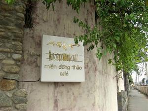 Miền Đồng Thảo - Quán cafe đẹp ở Sài Gòn