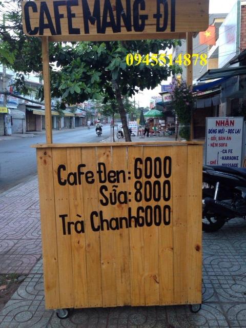 Thanh lý hoặc cho thuê xe cafe mang đi
