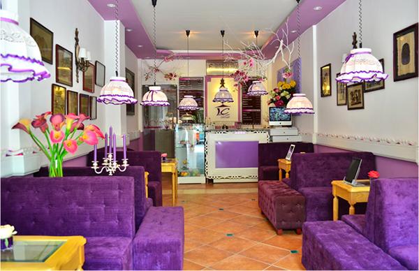Ipad Cafe House, quán cà phê với một tím trang nhã xinh xắn...tuyệt vời.