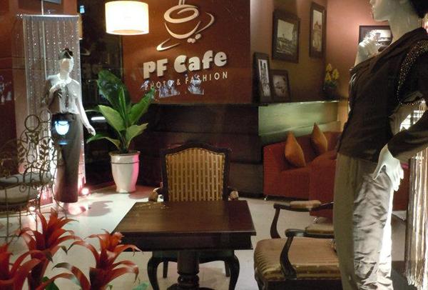 PF Cafe, quán cà phê đẹp và sang trọng giữa Sài Gòn.