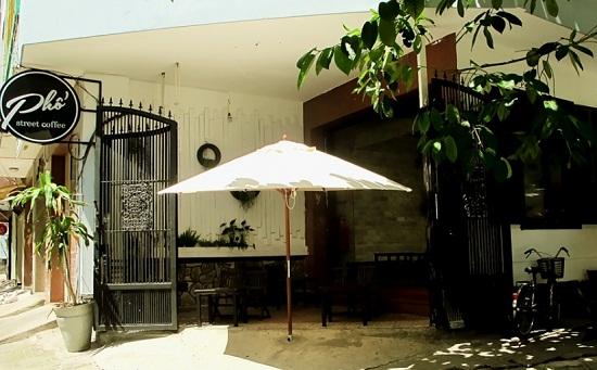 Phố Street Coffee, quán cà phê phố đẹp tại Phú Nhuận