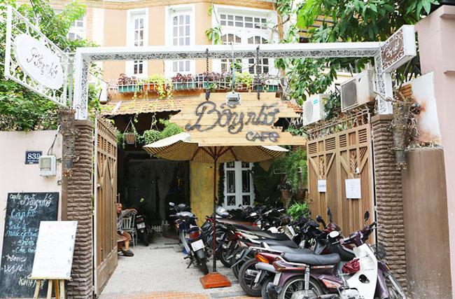 Cafe Bỗng Nhớ, quán cà phê đẹp tại Phú Nhuận