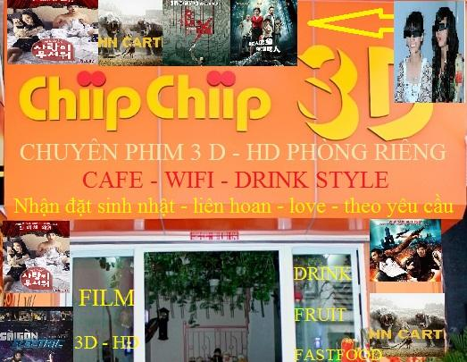 ChipChip 3D Cafe - Quán cà phê cinema ở Hải Phòng