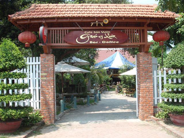Cafe sân vườn Giáng Xưa  - Quán cà phê đẹp tại Nghệ An