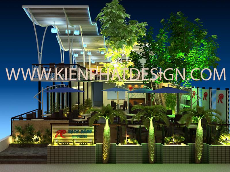 Dịch vụ xây dựng, thiết kế quán cà phê, Công ty TNHH TK XD  Kiến Phát