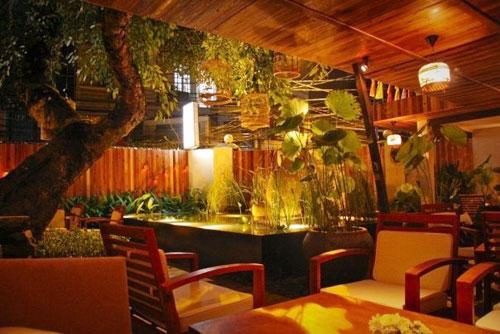Không gian thiền ấm cúng ở cà phê The Fig