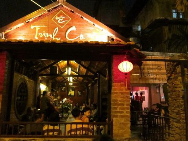 Cafe nhạc sống Trịnh Ca, nơi không thể bỏ qua của những ai yêu nhac trinh.
