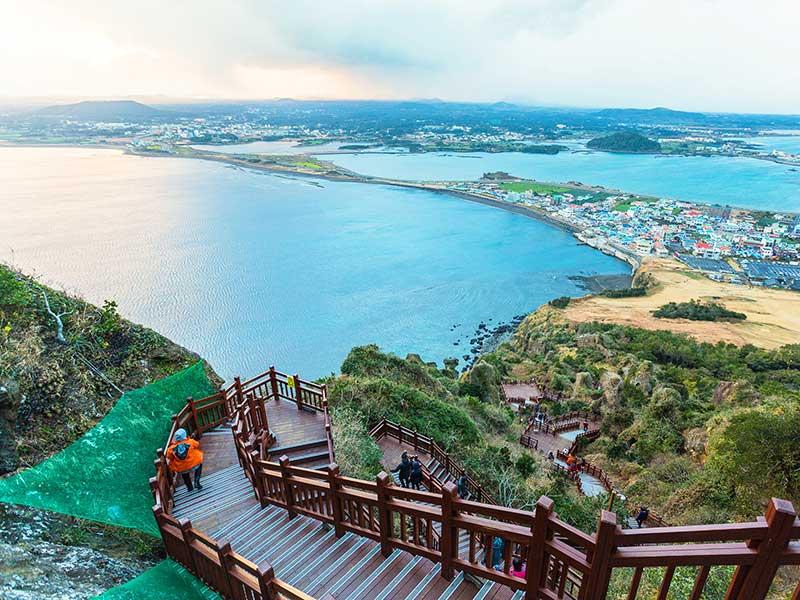 Núi Hallasan Jeju điểm tham quan đầy quyến rũ của Hàn Quốc