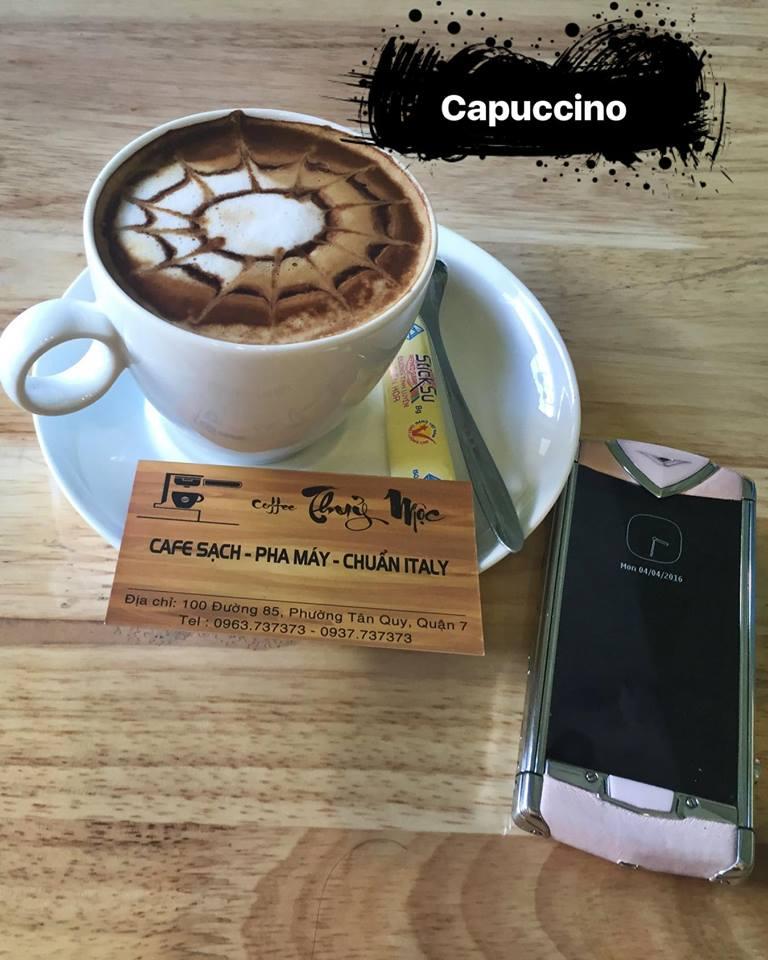 Thủy Môc coffee sạch - pha máy chuẩn italy - hồ cá koi thân thiện