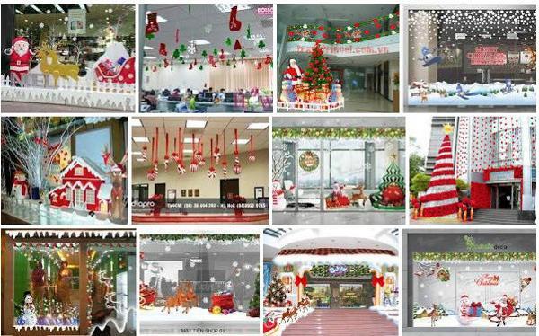Dịch vụ thi công trang trí Noel cho chủ shop cà phê công ty ở TPHCM