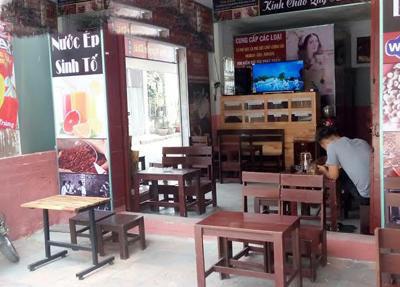 Nhượng quán cafe Rang xay thương hiệu ROMAX