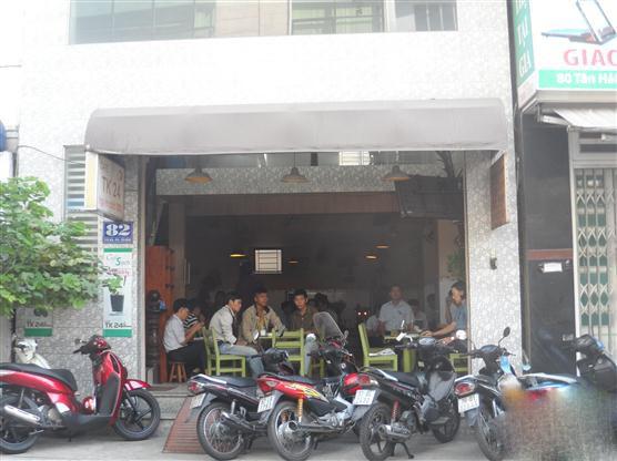 Sang Quán Cafe CAFE TK24 Góc Đường Tân Hải Cộng Hòa