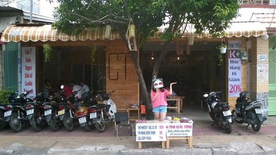 Sang Quán Cafe Trà Sữa Địa Chỉ: 45 Lê Thúc Hoạch, P.Phú Thọ Hòa, Q.Tân Phú, TP.HCM