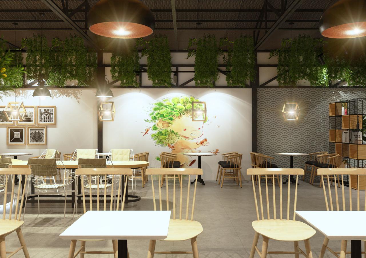 Công ty chuyên thiết kế quán cafe, trà sữa uy tín tphcm
