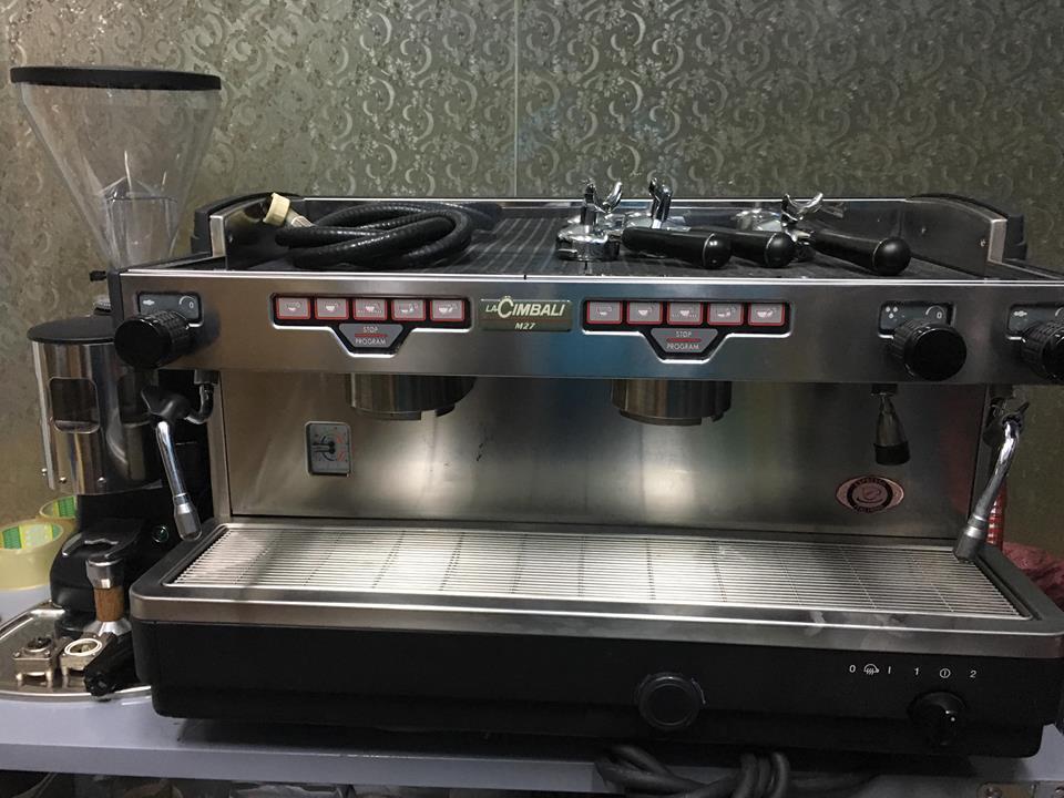 Thanh lý máy pha cà phê Lacimbali M27